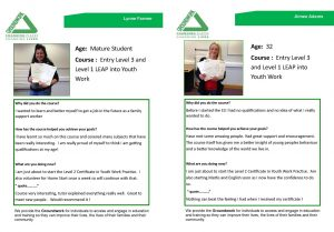 Groundwork South Case Studies - LASER Youth Work Qualifications